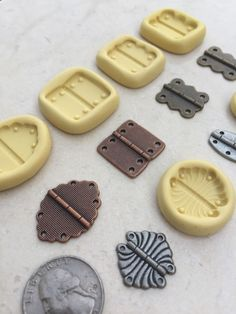 Flexible Silicone Mold Resin Clay Fondant Steampunk DIY fake hinges! Hinge Chocolate Polymer Clay | Crafts, Sculpting, Molding & Ceramics, Molding & Casting | eBay!
