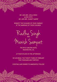 Mod Emblem wedding invitation - Greenvelope.com | Wedding ...