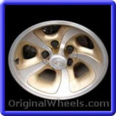 GMC S-15 1999 Wheels & Rims Hollander #5063B  #GMCS15 #GMC #S15  #1999 #Wheels #Rims #Stock #Factory #Original #OEM #OE #Steel #Alloy #Used