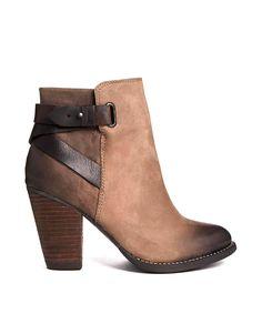 ALDO Salazie Leather Heeled Ankle Boots ♡