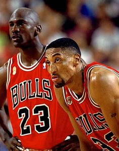 Michael Jordan and Scottie Pippen - Chicago Bulls