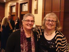 Seekerville's Roving Reporters Bring Home the Scoop from ACFW 2015 with guests Natalie Monk and Courtney Ballinger. Photo: Pam Hillman and Harvest House senior editor Kim Moore.