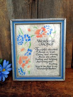 VINTAGE MOTHERS DAY GIFTS For MOMS & GRANDMOTHERS  by Terese on Etsy