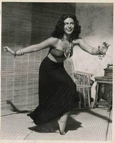 "Hedy Lamarr as Tondelayo in ""White Cargo"" (1942)"