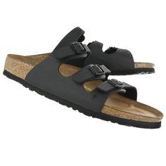 aa9adf4ab95f Women s FLORIDA black 3 strap sandals