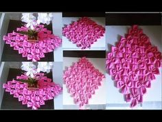 Fabric Flower Tutorial, Fabric Flowers, Smocking, Diy And Crafts, Sewing Projects, Alice, Rose, Toddler Arts And Crafts, Crochet Designs