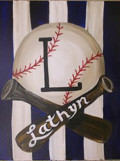 1000 Ideas About Baseball Canvas On Pinterest