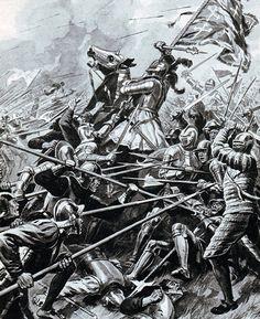 The Battle of Flodden, 9th September 1513