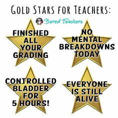 Which gold star do you deserve?