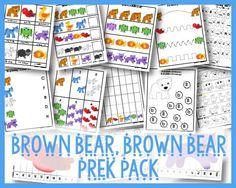 Brown Bear, Brown Bear PreK Pack Free