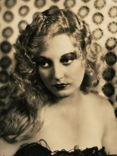 Stunning portrait late 1920s of Thelma Todd, by Harold Dean Carsey
