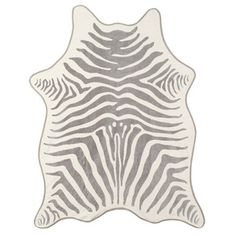 Maslin & Co Zebra Towel $225  Ditch the threadbare Technicolor rags lying around the linen closet and invest in a sophisticated zebra hid...