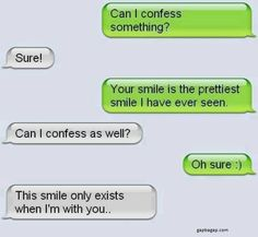 Funny Text About Smiles :)