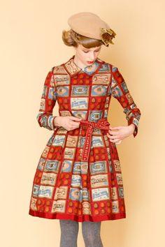 Dolly Fashion, Vogue Fashion, Lolita Fashion, Cute Fashion, Fashion Beauty, Grey Tights, Rainbow Fashion, Pretty Dresses, Mantel