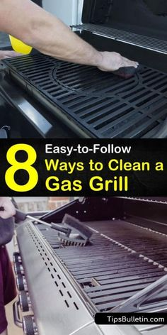 8 Easy To Follow Ways To Clean A Gas Grill In 2020 How To Clean Bbq Electric Bbq Clean Grill Grates