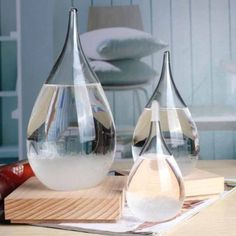 New Weather Forecast Crystal Water Shape Storm Glass Home Decor Christmas Gift