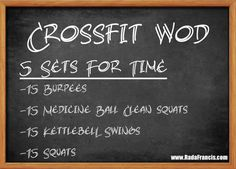 Traveling this summer? #Crossfit #WOD for home