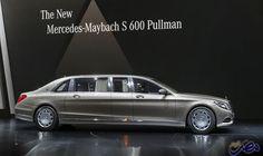 """""""مرسيدس بنز"""" تعلن عن النسخة المدرعة """"Maybach…: أعلنت شركة """"مرسيدس – بنز"""" عن استعدادها للكشف عن نسخة مدرعة لسيدان """"Mercedes-Maybach S 600…"""