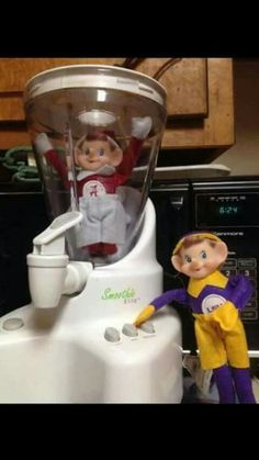 LSU elf on shelves humor funny