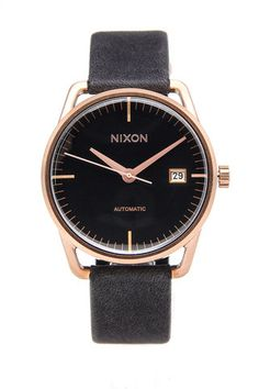 Smart Nixon rose gold watch. Buying this for my future hubby