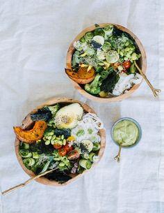 Lean Green Summer Bowl Recipe
