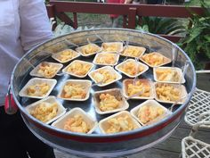 Seafood Macaroni and Cheese Minis - Catering by Debbi Covington - Beaufort, SC