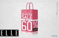 Bring in the hottest shades of the season with upto 60% off at Elle. Live the rush!