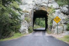 19.........Norbeck Scenic Highway, in South Dakota's Black Hills