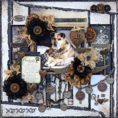 Pawprints left by You ***Dusty Attic***