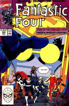 Fantastic Four # 340 by Walter Simonson