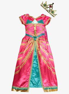 Online Exclusive Disney Aladdin Princess Jasmine Pink Costume years) from Tu at Sainsbury's ! Your Online Shop for Kids Fancy Dress Fancy Dress Short, Disney Fancy Dress, Fancy Dress For Kids, Disney Princess Dresses, Fancy Dress Outfits, Dress Up, Aladdin Princess, Princess Jasmine Costume Kids, Pink Jasmine