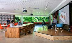 Microsoft | O+A - ceiling tiles + plywood