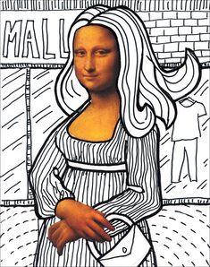 Mona+Lisa template