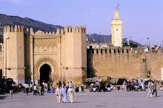 City gates in Fez, Morocco