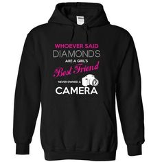 Exclusive Camera Best Friend T Shirts, Hoodies. Check price ==► https://www.sunfrog.com/LifeStyle/Camera-Is-A-Girls-Best-Friend--Black-Hoodie.html?41382 $39.99