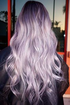Sexy Silver Purple Hair picture 2