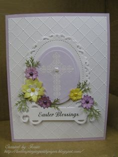 Easter Blessings by ixfquiller - Cards and Paper Crafts at Splitcoaststampers