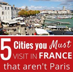 Our top 5 cities in France for city-breaks from Belgium: Avignon, Pau, Strasbourg, La Rochelle and St. Emilion.