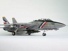 """F-14 D TOMCAT VF-2 """"BOUNTY HUNTERS"""" — Каропка.ру — стендовые модели, военная миниатюра"""