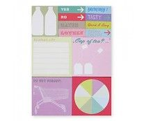 Rico Design 480 Sticky notes - shopping list