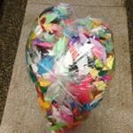 A bag full of a child hope to be part of #1000ActsofKindness installation- thanks to Meagan's Walk  #Toronto
