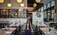 As a modern take on a Jewish deli, the interior of The General Muir looks just as appetizing as the food.