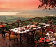 Ngorongoro Crater Lodge luxury safari lodge in Tanzania give phenomenal views over the most fascinating volcanic calderas in the world. Find out more with Turquoise Holidays. Beautiful World, Beautiful Places, Beautiful Scenery, Amazing Places, Beautiful Gorgeous, Absolutely Gorgeous, Arusha, Belle Villa, African Safari