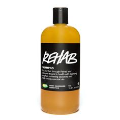 Rehab balances oil levels in hair as well as the peppermint helps stimulate hair growth. If you're trying Lush shampoo's for the first time, stick with Rehab and see the results of natural haircare.   My Favorite Hair Shampoo