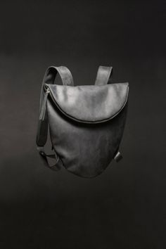 Women backpack - Phoebe, black leather backpack, leather Backpack, backpack for Laptop