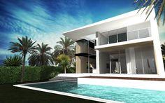 ToGu Architecture - MIA 770 – MIAMI BEACH Conception d'une villa de 440 m² / 4 700 SQ FT Miami Beach- Normandy Shore
