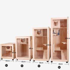 Cat Apartment, Diy Cat Enclosure, Cat House Plans, Pet Cafe, Cardboard Cat House, Cat Kennel, Cat Hotel, Diy Cat Tree, Cat Bedroom