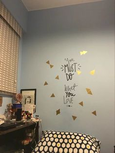 You Must do what you love  wall stickers 7 colors and  3 sizes