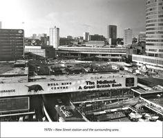 Birmingham New Street : New Street station - past, present & future