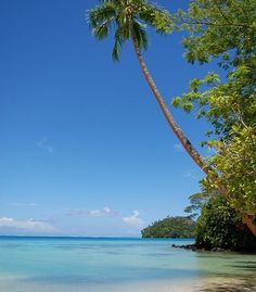 Huahine in the South Pacific. (From: 40 Islands You'd Love To Be Stranded On)